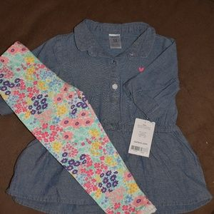**NWT** Carter's Infant Girls Outfit